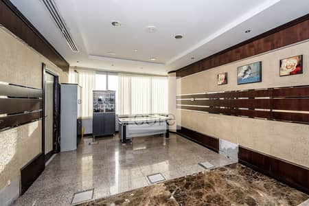 Office for Rent in Jumeirah Lake Towers (JLT), Dubai - Fitted and Furnished Office | High Floor