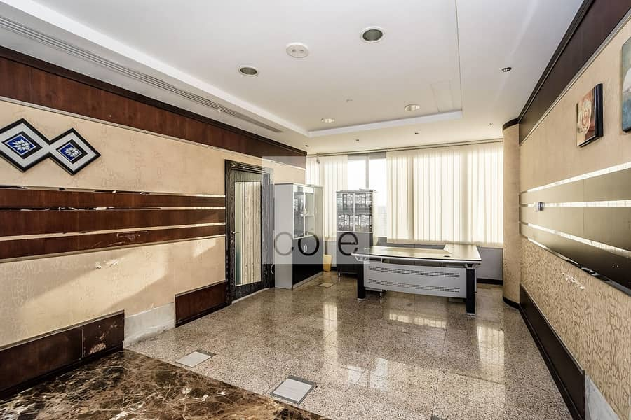 2 Fitted and Furnished Office | High Floor