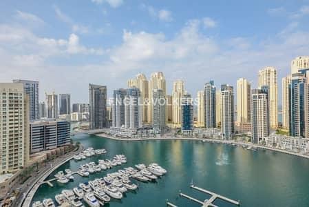 2 Bedroom Apartment for Sale in Dubai Marina, Dubai - Motivated seller |Vacant 2 BR |Study room