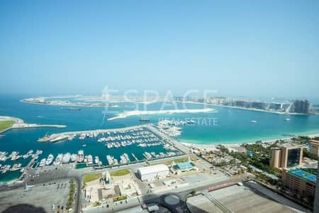 3 Bedroom Flat for Rent in Dubai Marina, Dubai - Fully Upgraded |Full Palm View |Fully Furnished