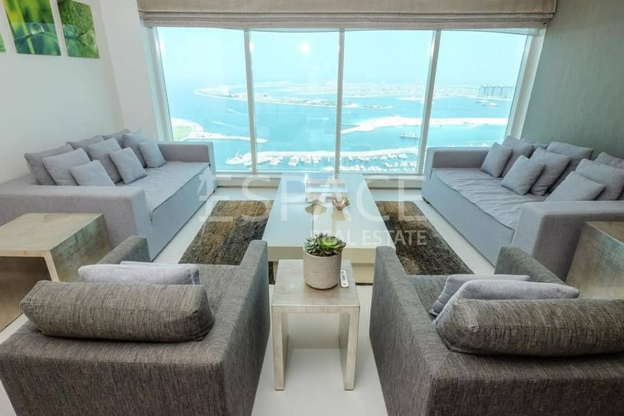 2 Fully Upgraded  Full Palm View  Fully Furnished