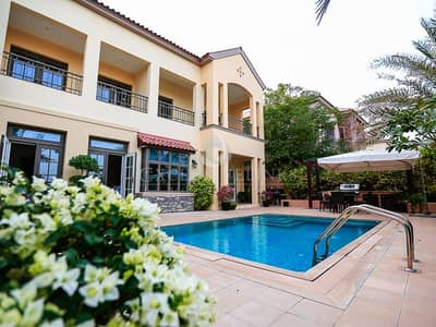 5 Bedroom Villa for Rent in Jumeirah Golf Estate, Dubai - Well maintained Augusta on Fire Course