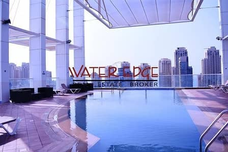 2 Bedroom Flat for Rent in Dubai Marina, Dubai - Luxury 2 Bedrooms Next To Metro Station In La Rivera