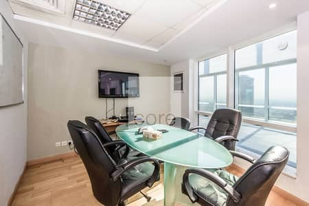 Office for Rent in Jumeirah Lake Towers (JLT), Dubai - Fitted Office | Mid Floor | DMCC Freezone