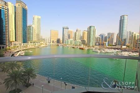 1 Bedroom Apartment for Rent in Dubai Marina, Dubai - One Bedroom   Marina Views   Unfurnished