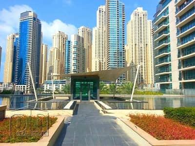 1 Bedroom Flat for Rent in Dubai Marina, Dubai - Unfurnished 1 Bed - Full Marina View - Vacant