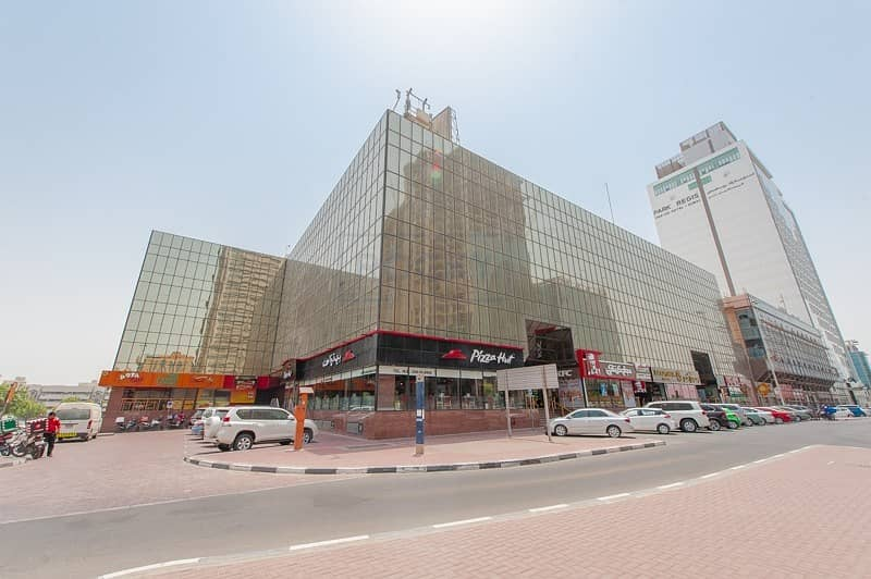 970 sq.ft. Office | Carpet Flooring | Pantry | Parking | Al Karama