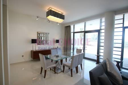 3 Bedroom Townhouse for Rent in DAMAC Hills (Akoya by DAMAC), Dubai - 3BR Plus Maid Furnished Unit I Brand New