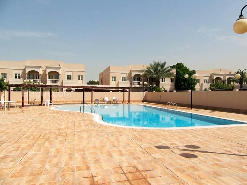10 Luxurious 5 bedrooms villa in a very nice compound in Al Garhoud Area by NLRE