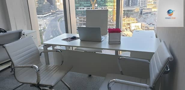 Office for Rent in Deira, Dubai - !!HURRY UP!!  FLEXIBLE DESK OR FULL OFFICE AVAILABLE  NEAR METRO STATION  IN CHEAP PRICE