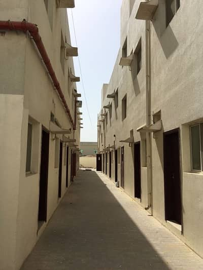 12 Bedroom Labour Camp for Rent in Al Jurf, Ajman - 10 to 210 Luxury Labor Camp Rooms Available For Rent In Al Jurf Ajman 1450 Pr Room Including all CALL RAWAL