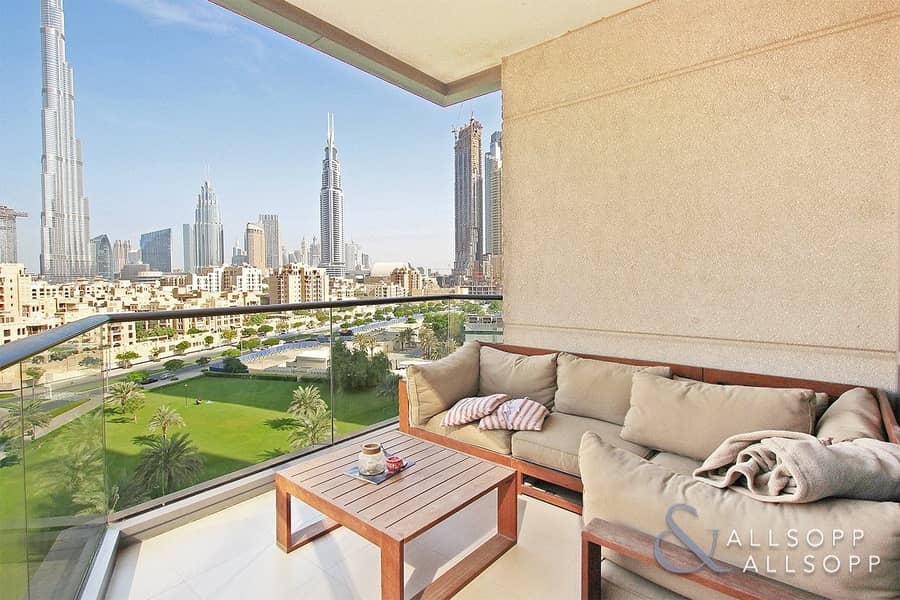 Burj Khalifa Views | South Ridge | 2 Bed