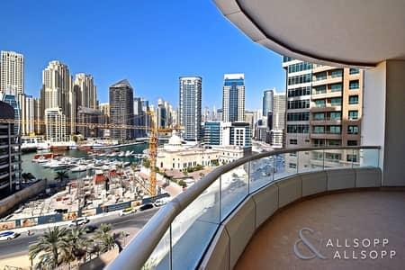 3 Bedroom Flat for Sale in Dubai Marina, Dubai - 3 Beds | Study Room | Vacant On Transfer