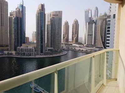 2 Bedroom Apartment for Rent in Dubai Marina, Dubai - Spectacular Marina View on the High Floor