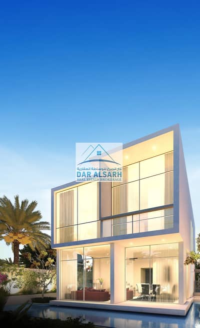 6 Bedroom Villa for Sale in DAMAC Hills (Akoya by DAMAC), Dubai - Villas for sale in the Arab cities with payment plans after receiving
