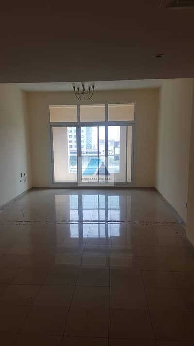 2 Bedroom Flat for Rent in Al Mamzar, Dubai - MONTH FREE!!3BALCONY!!FRONT VIEW!! VERY HUGE!!CHILLER FREE SPACIOUS 2 BHK LAUNDRY 3 BATH WARDROBES GYM POOL STEAM SAUNA