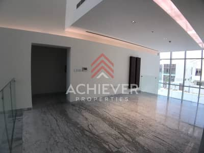 4 Bedroom Villa for Rent in Mohammad Bin Rashid City, Dubai - Park and burj view | Ready contemp villa
