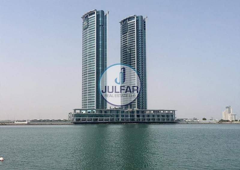 Unfurnished 1 BHK Sea View Apartment for SALE in Julphar Tower