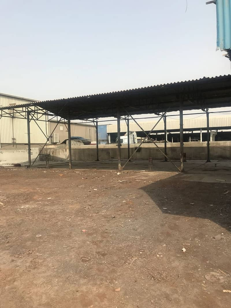 Commercial land for rent in Al Quoz