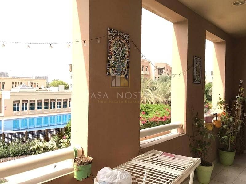 2 Vacant onTransfer 3BR+M Garden/Pool View