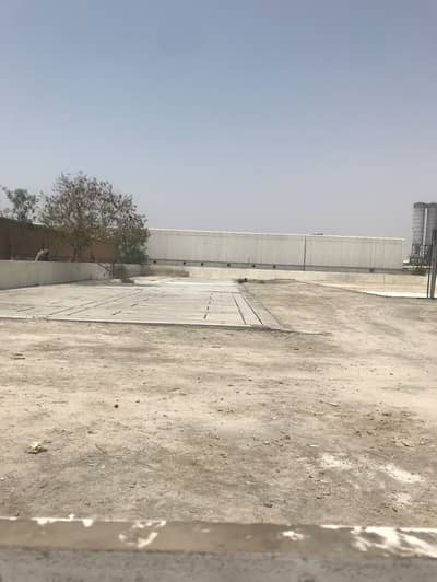 Plot for Rent in Al Quoz, Dubai - Open land and shed for rent in Al Quoz
