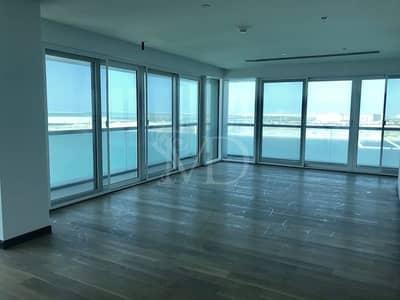 Penthouse for Rent in Al Raha Beach, Abu Dhabi - Unique full Sea View Duplex in Al Bandar
