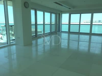 4 Bedroom Flat for Rent in Al Raha Beach, Abu Dhabi - Seaviews from every room in this stylish