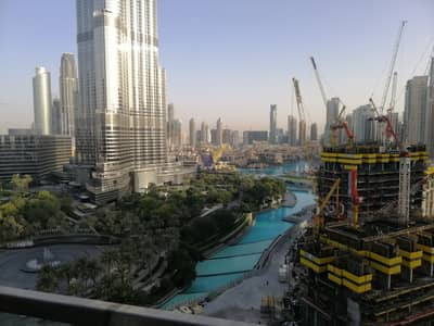 3 Bedroom Flat for Rent in Downtown Dubai, Dubai - 3 BR Apt High Floor|Burj Khalifa and fountain view