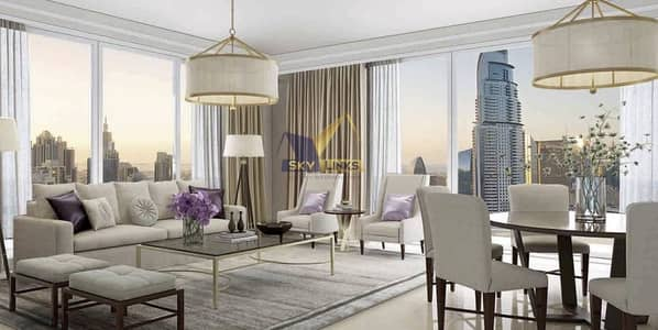 2 Bedroom Flat for Sale in Downtown Dubai, Dubai - High Floor Spacious 1 Bed  Apt For Sale