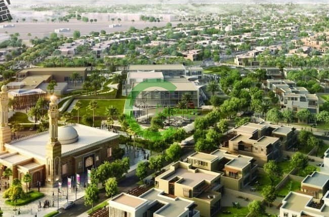 Huge Residential Plot In Khalifa City A!