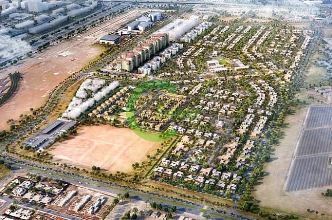 2 Huge Residential Plot In Khalifa City A!
