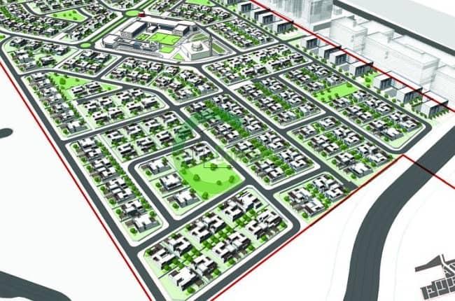 9 Huge Residential Plot In Khalifa City A!