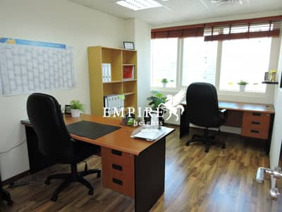 Office for Rent in Jumeirah Lake Towers (JLT), Dubai - Beautiful lFitted office lHigh floor lGood location