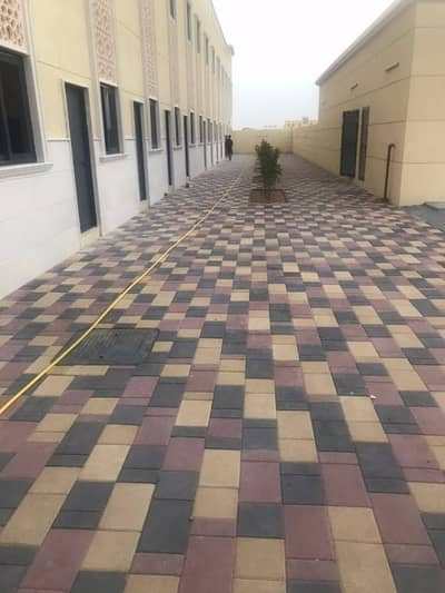 84 Rooms Independent labour camp for rent in Sharjah