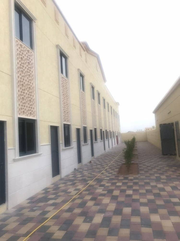 66 Rooms Independent labour camp for rent in Sharjah