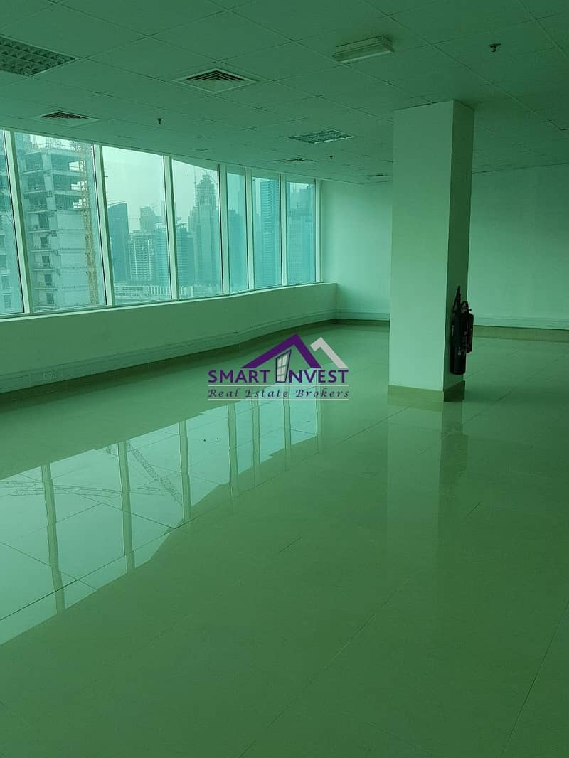2 Fitted Office full Floor with pantry/washroom for rent in Business Bay for AED 635K/Yr