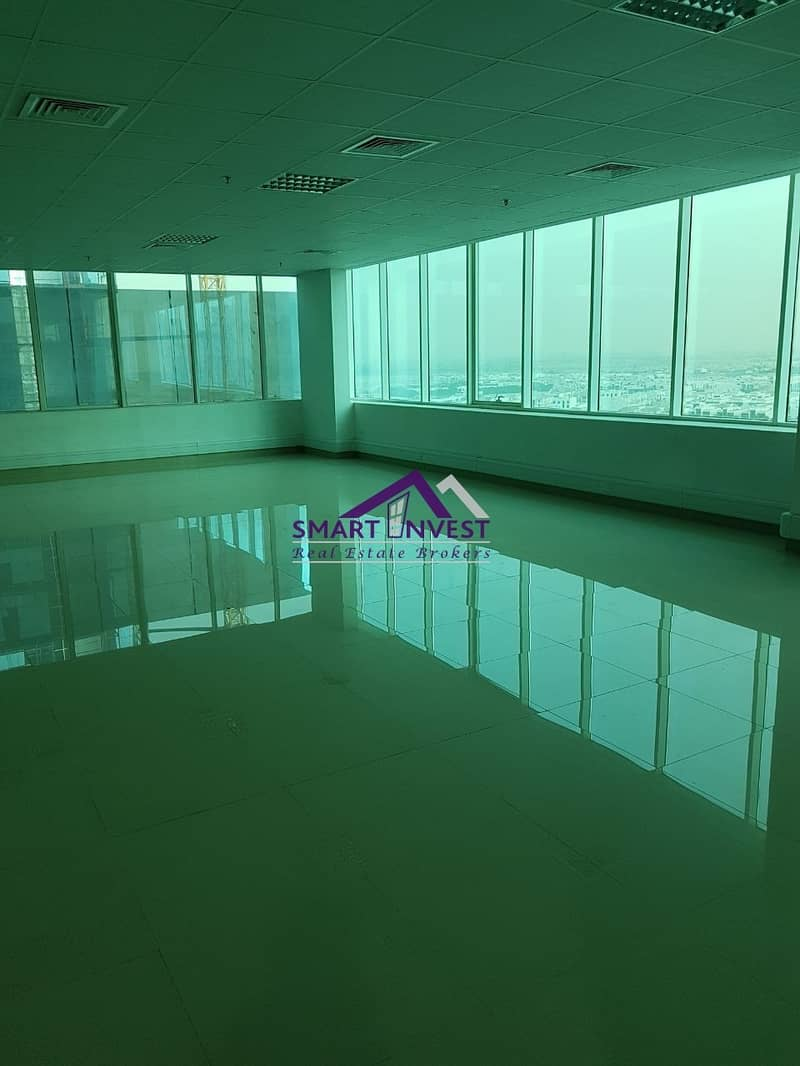 12 Fitted Office full Floor with pantry/washroom for rent in Business Bay for AED 635K/Yr