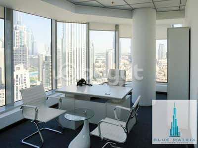 Office for Rent in Business Bay, Dubai - Get  Fully Serviced office in Flexible  Price in Business Bay!