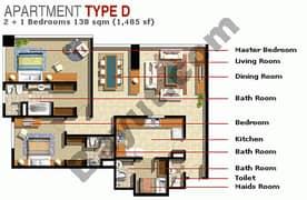 2 Bedroom Type D