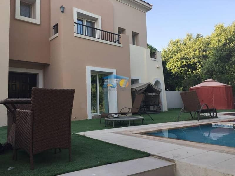 Way to your dream home!  Excellent 4 BR Residential Villa for Sale in Arabian Ranches !!!!