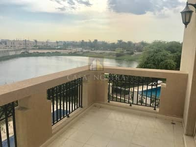 4 Bedroom Villa for Rent in Jumeirah Islands, Dubai - Lake View Vacant 4BR Entertainment Foyer
