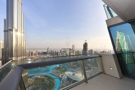 3 Bedroom Flat for Rent in Downtown Dubai, Dubai - 3 BR higher floor Burj Vista Burj Khalifa view