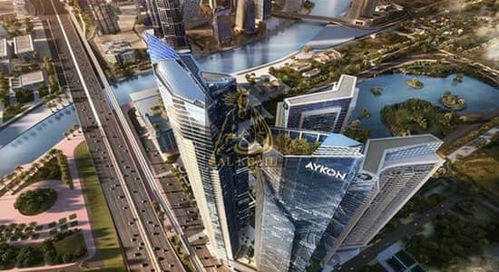 1 Bedroom Flat for Sale in Sheikh Zayed Road, Dubai - 1 bedroom apt with community view for sale in Aykon City