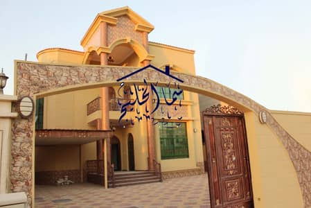 5 Bedroom Villa for Sale in Al Mowaihat, Ajman - New villa for sale very beautiful stone facade distinctive location. . . .