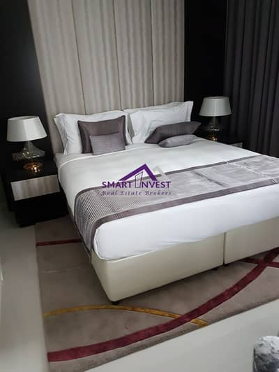 2 Bedroom Flat for Rent in Downtown Dubai, Dubai - Fully furnished beautiful 2 BR Apartment for rent in Damac Upper Crest