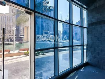 محل تجاري  للايجار في دبي مارينا، دبي - Water Front  | Shop Along Marina Walk|