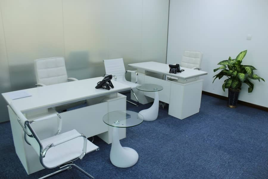 2 Fully Furnished Office Near Dubai Mall .