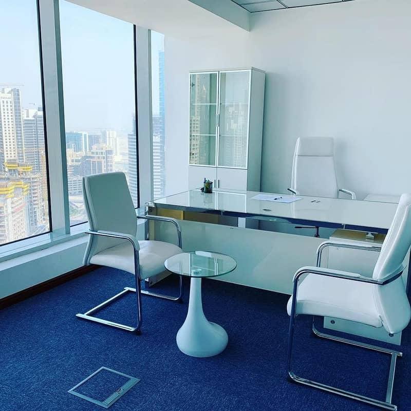 10 Fully Furnished Office Near Dubai Mall .