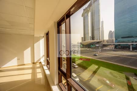 Office for Rent in Sheikh Zayed Road, Dubai - Corner Office | Fitted | Free Chiller