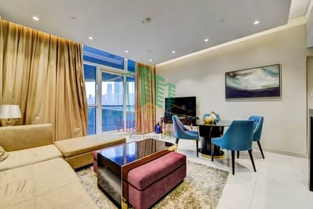 1 Bedroom Flat for Rent in Downtown Dubai, Dubai - INCREDIBLY FURNISHED 1 BR Community View